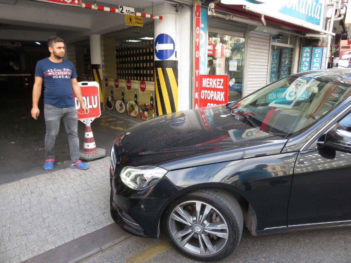 İstanbul'da otopark sıkıntısı