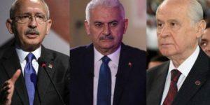 Üç lider aynı anda ekrandaydı: Reytinglerde büyük fark!
