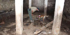 Leyla'nın bulunması için metruk evlerde kazı yapıldı