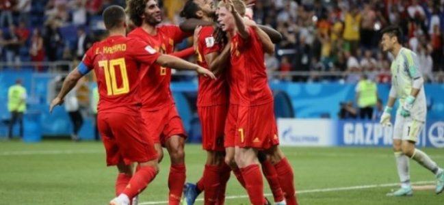 Muhteşem bir geri dönüşe imza atan Belçika, Çeyrek Final'de!