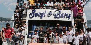 Sarıyer Belediyesi'nden savaş mağduru çocuklara destek
