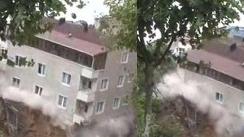 Beyoğlu'nda yıkılan binayla ilgili çarpıcı detay
