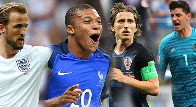 İşte Dünya Kupası'nın enleri.