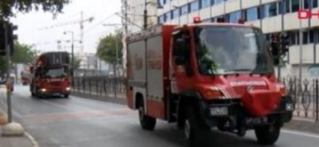 İstanbul'da üniversitede yangın