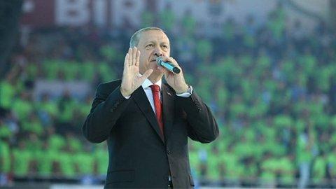 Erdoğan: Bez torbalarla meydanlarda olacağız