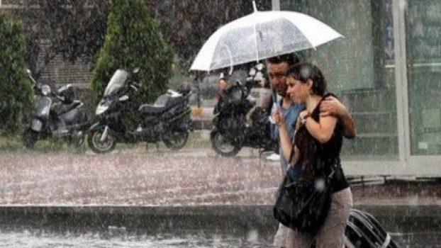 Dikkat! Çok kuvvetli yağış geliyor.