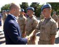 Soylu, Maslak'ta jandarma personeliyle bayramlaştı