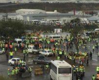 3. Havalimanı işçilerinden eylem