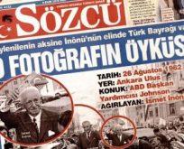 Erdoğan'ın iddiasının aksine elinde Türk Bayrağı vardı