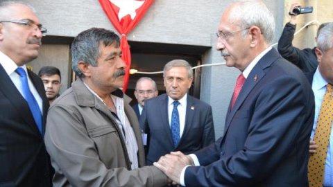 Kılıçdaroğlu'nun şehit ailesine taziye ziyaretinde çirkin provokasyon