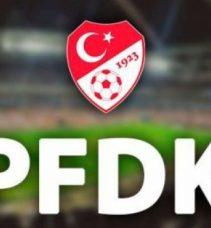 PFDK'dan 11 kulüp toplamda 975 bin 500 TL ceza aldı