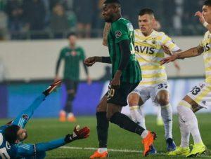 Fenerbahçe 16. sıraya düştü