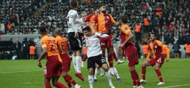 Beşiktaş – Galatasaray derbisinin kazananı Beşiktaş