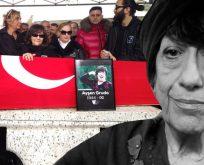 Usta sanatçı Ayşen Gruda son yolculuğuna uğurlandı