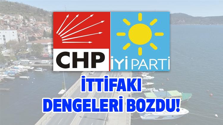 CHP ve İYİ Parti Sarıyer'de anlaştı!