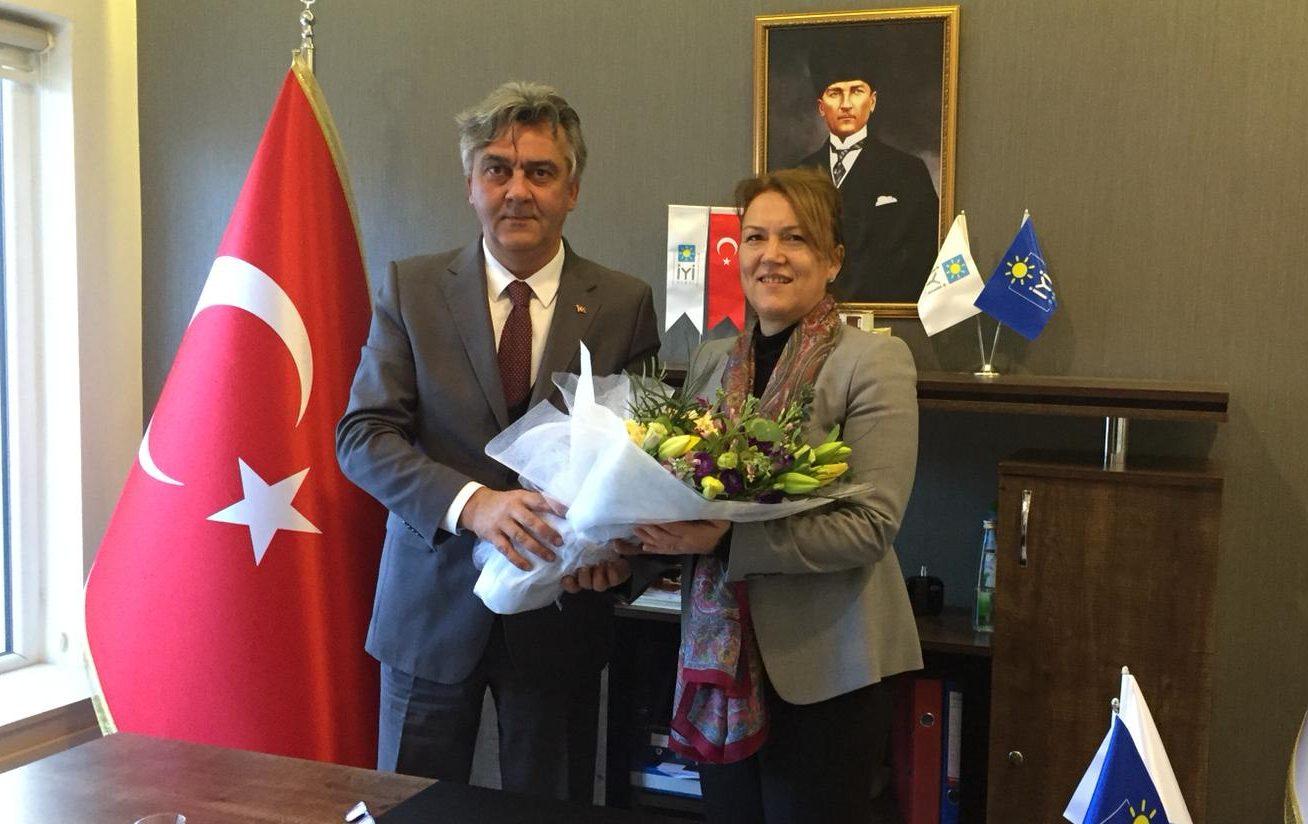 CHP Sarıyer'den İYİ Parti Sarıyer'e ziyaret.