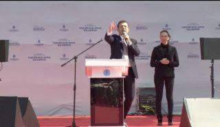 Maltepe'de 'İstanbul'a yeni bir başlangıç' mitingi başladı