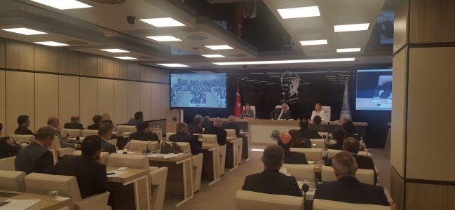Yeni dönemin ilk meclisi toplandı.