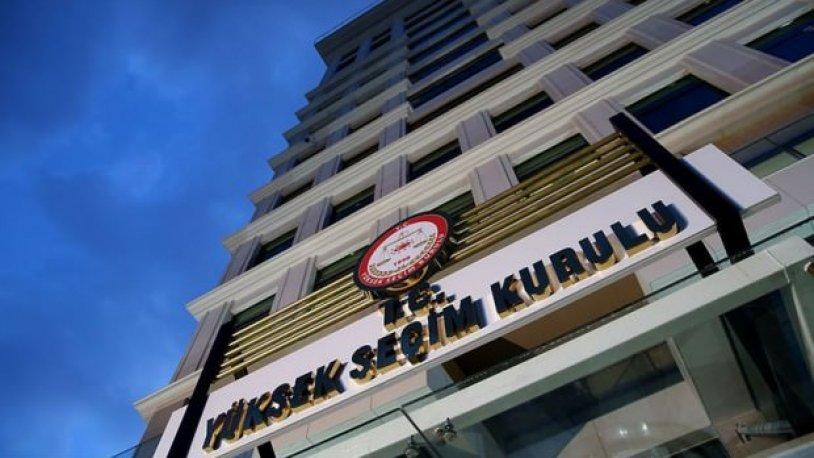 CHP'nin itirazı sonrası YSK'dan flaş karar