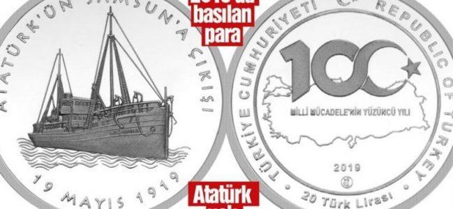 Bunu da yaptılar! Atatürk'süz 19 Mayıs parası bastılar.