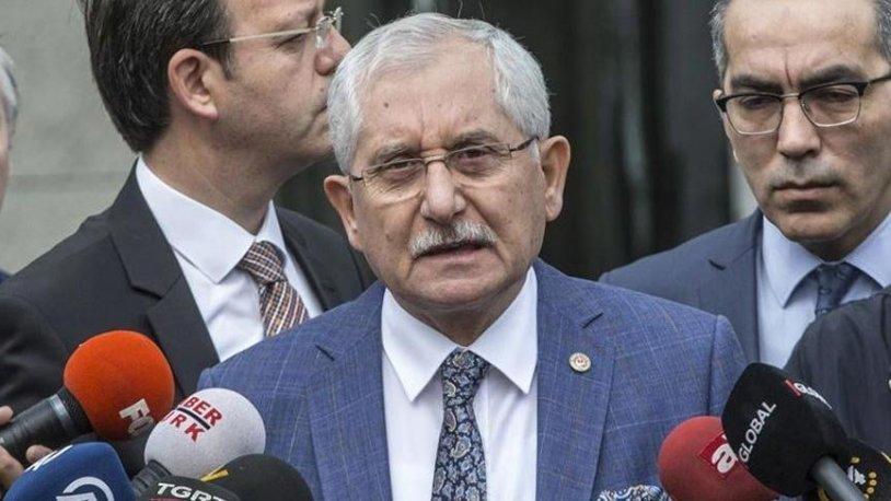 YSK Başkanı Sadi Güven'den seçmen listesi açıklaması