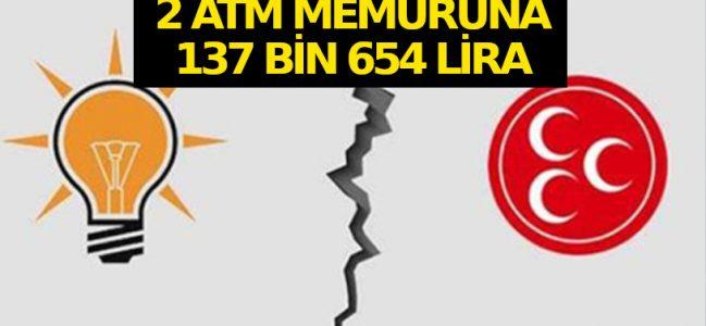 Cumhur İttifakı'nda bankamatik memuru çatlağı.