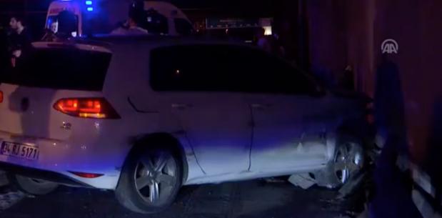 Beşiktaş'da trafik kazası: 2 ölü 8 yaralı