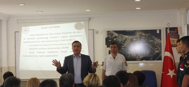Zekeriyaköy'de koordinasyon toplantısı.