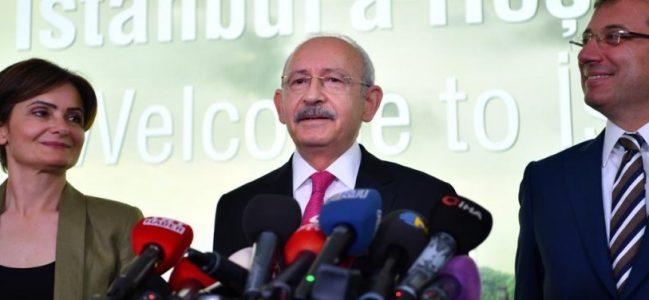 İmamoğlu: Sürecin en önemli karakteri Kılıçdaroğlu'dur.