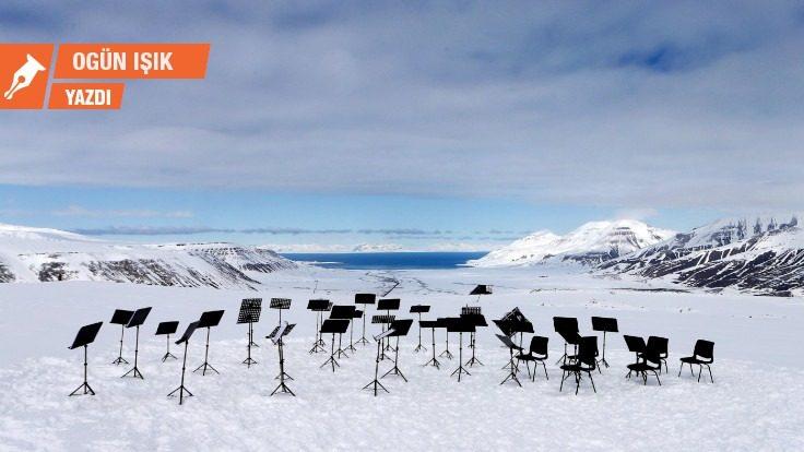 Kuzey Kutbu'ndan gelen müzik.