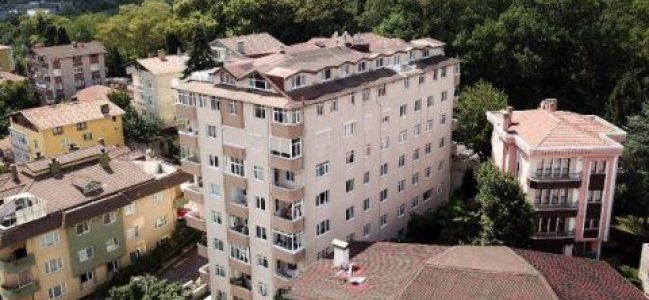 Bahçeköy'de 9 katlı bina tahliye edildi!