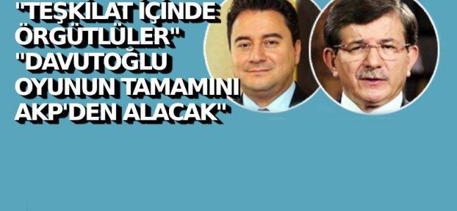 İşte Babacan ve Davutoğlu'nun oy oranı.
