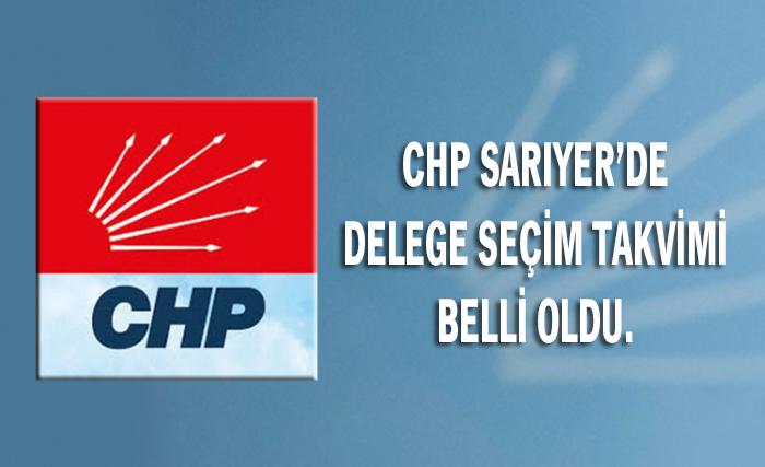 CHP'de delege seçimi takvimi belli oldu.