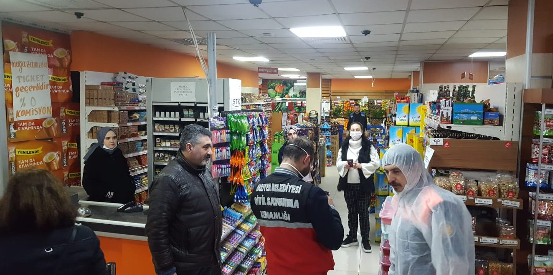 CHP Sarıyer Örgütü Koronavirüse karşı çalışmalarına devam ediyor.
