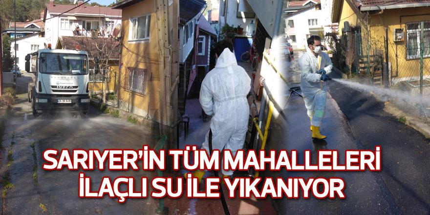 Sarıyer Belediyesi 2 günde Sarıyer'i yıkadı.