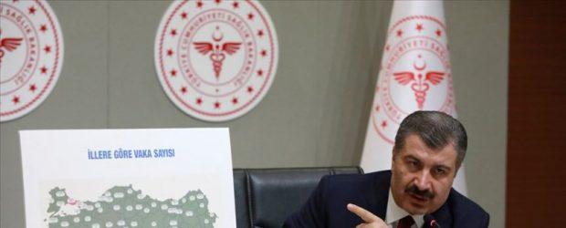 Fahrettin Koca: Türkiye'nin Vuhan'ı, İstanbul oldu
