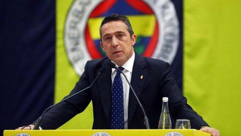 Ali Koç'tan teknik direktör açıklaması.