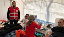 Kızılay Sarıyer'den kan bağışı çağrısı