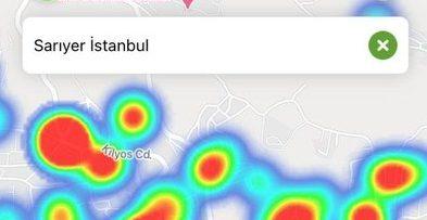 İstanbul'da Vakaların en çok arttığı ikinci ilçe Sarıyer