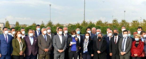 CHP İstanbul'dan Çakıcı'nın tehditlerine cevap.