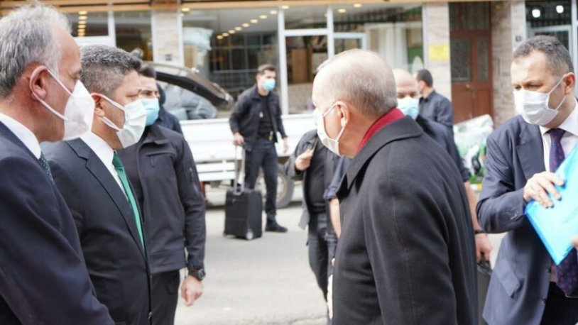 Erdoğan'la görüşen belediye başkanı izolasyona girdi!