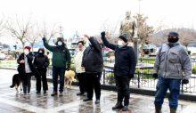 """Sarıyer'de """"HDP kapatılsın"""" eylemi"""