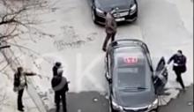 Sokak ortasında şiddet.