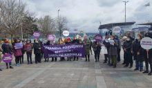 Sarıyerli Kadınlar İstanbul Sözleşmesine sahip çıktı.