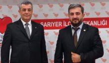 DSP Sarıyer'den TDP'ye ziyaret