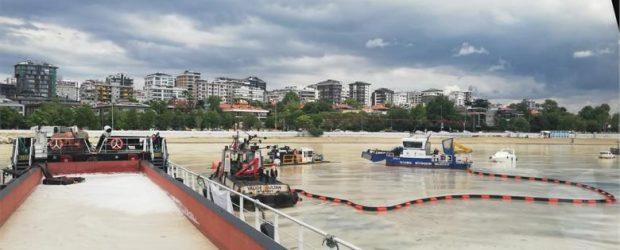 İBB Marmara'da temizlenen Müsilaj'ın yüzde 65'ini topladı.